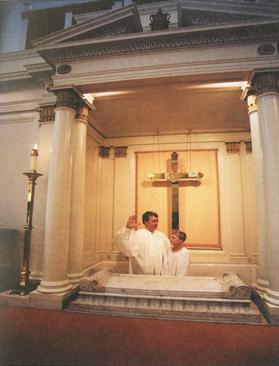Baptistery in FBC Savannah